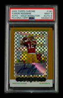 Aaron Rodgers 2005 Topps Chrome Gold Xfractors #190 Autograph #139/399 (PSA 9) at PristineAuction.com