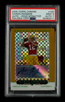 2005 Topps Chrome Gold Xfractors #190 Aaron Rodgers AU #139/399 (PSA 9) at PristineAuction.com