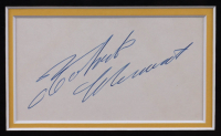 Roberto Clemente Signed 34.5x43 Custom Framed Cut Display (PSA LOA) at PristineAuction.com