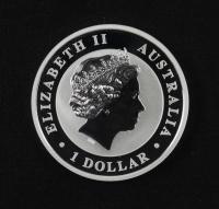 "2015 Queen Elizabeth II 1 Oz Silver $1 ""Australian Koala"" Coin at PristineAuction.com"