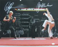 "William Zabka & Ralph Macchio Signed ""The Karate Kid"" 16x20 Photo (JSA COA) at PristineAuction.com"