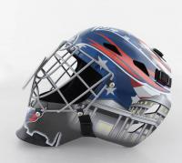 Henrik Lundqvist Signed Capitals Full-Size Goalie Mask (Fanatics Hologram) (See Description) at PristineAuction.com