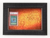 Monster Reborn #LOB-118 Unlimited 12x16 Custom Framed Yu-Gi-Oh! Card Display (PSA 9) at PristineAuction.com