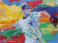 "LeRoy Neiman 2003 ""Roger Clemens"" 24.5x30 Original Vintage Lithograph at PristineAuction.com"
