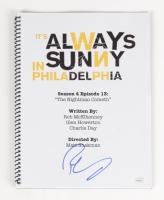 "Rob McElhenney Signed ""It's Always Sunny In Philadelphia: The Nightman Cometh"" Episode Script (JSA Hologram) at PristineAuction.com"