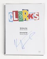 """Kevin Smith Signed """"Clerks"""" Movie Script (JSA Hologram) at PristineAuction.com"""