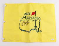 """Gary Player Signed Masters Tournament Pin Flag Inscribed """"61 74 78 52 Times"""" (JSA COA) at PristineAuction.com"""
