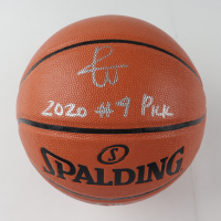 """Patrick Williams Signed LE NBA Game Ball Series Basketball Inscribed """"2020 #4 Pick"""" (Beckett COA) at PristineAuction.com"""
