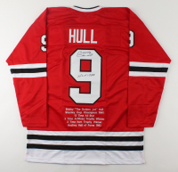 "Bobby Hull Signed Career Highlight Stat Jersey Inscribed ""HOF 1983"" (JSA COA) at PristineAuction.com"