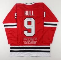 "Bobby Hull Signed Career Highlight Stat Jersey Inscribed ""HOF 1983"" (JSA Hologram) at PristineAuction.com"