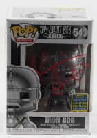 "Kevin Smith Signed LE ""Jay & Silent Bob Reboot"" #543 Iron Bob Funko Pop! Vinyl Figure (JSA COA) (See Description) at PristineAuction.com"