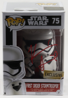 "Kevin Smith Signed ""Star Wars"" #75 First Order Stormtrooper Funko Pop! Vinyl Figure (JSA COA) at PristineAuction.com"