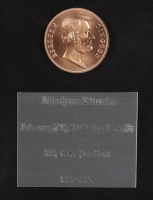 Abraham Lincoln Signed 24x26 Custom Framed Cut Display (PSA Encapsulated) at PristineAuction.com