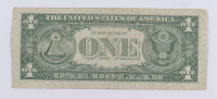 1957 $1 One Dollar U.S. National Currency Blue Seal Bank Note at PristineAuction.com