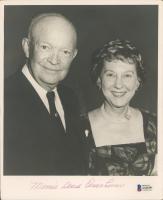 Mamie Doud Eisenhower Signed 8x10 Photo (Beckett COA) at PristineAuction.com