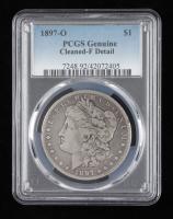 1897-O Morgan Silver Dollar (PCGS Fine Details) at PristineAuction.com