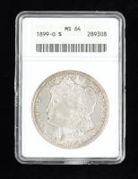 1899-O Morgan Silver Dollar (ANACS MS64) at PristineAuction.com