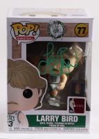 Larry Bird Signed Celtics #77 Funko Pop! Vinyl Figure (JSA COA & Bird Hologram) at PristineAuction.com