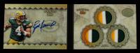 Brett Favre 2012 Topps Five Star Veteran Autographed Triple Jersey Five Star 1/1 #FSSBBF #1/1 at PristineAuction.com
