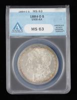 1884-O Morgan Silver Dollar VAM-4A (ANACS MS63) (Toned) at PristineAuction.com