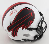 Stefon Diggs Signed Bills Full-Size Lunar Eclipse Alternate Speed Helmet (Beckett Hologram) at PristineAuction.com