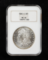 1880-S Morgan Silver Dollar (NGC MS64) OH at PristineAuction.com