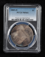1885-O Morgan Silver Dollar (PCGS MS64) (Toned) at PristineAuction.com