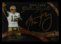Aaron Rodgers 2014 Topps Five Star Golden Graphs Orange #FSGGAR #4/5 at PristineAuction.com