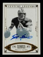 Brett Favre 2012 Panini National Treasures Century Gold Signature #113 #11/25 at PristineAuction.com