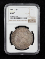 1880-S Morgan Silver Dollar (NGC MS63) (Toned) at PristineAuction.com