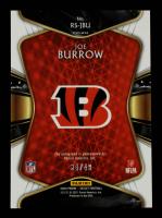 Joe Burrow 2020 Select Rookie Signatures Prizm #1 #34/49 at PristineAuction.com