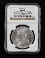 1884-O Morgan Silver Dollar - Olathe Dollar Hoard (NGC MS63) at PristineAuction.com