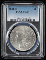 1884-O Morgan Silver Dollar - McClaren Collection II (PCGS MS64) at PristineAuction.com