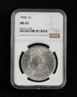 1898 Morgan Silver Dollar (NGC MS63) at PristineAuction.com