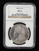 1898-O Morgan Silver Dollar (NGC MS64) at PristineAuction.com