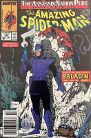 """Stan Lee Signed 1989 """"The Amazing Spider-Man"""" Issue #320 Marvel Comic Book (Lee Hologram) at PristineAuction.com"""