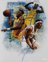 Myles Turner Signed Pacers 11x14 Photo (JSA COA) at PristineAuction.com