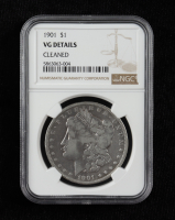 1901 Morgan Silver Dollar (NGC VG Details) at PristineAuction.com