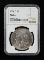 1884-O Morgan Silver Dollar (NGC MS64) at PristineAuction.com