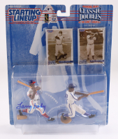 Larry Doby Signed Starting Lineup Winning Pairs Classics Doubles Action Figure (JSA COA) (See Description) at PristineAuction.com