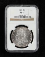 1898 Morgan Silver Dollar (NGC MS64) at PristineAuction.com