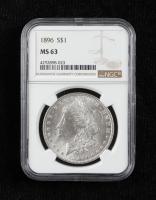 1896 Morgan Silver Dollar (NGC MS63) at PristineAuction.com
