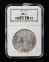 1902-O Morgan Silver Dollar (NGC MS64) at PristineAuction.com