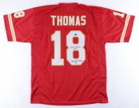 "Emmitt Thomas Signed Jersey Inscribed ""HOF 08"" & ""Super Bowl Champs IV"" (TriStar Hologram) (See Description) at PristineAuction.com"