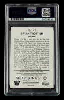 Bryan Trottier Signed 2018 Sportkings #42 (PSA Encapsulated) at PristineAuction.com