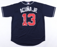 Ronald Acuna Jr. Signed Braves Jersey (JSA COA) (See Description) at PristineAuction.com