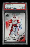 Jimmy Howard Signed 2015-16 SP Authentic #4 (PSA Encapsulated) at PristineAuction.com
