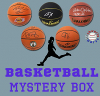 Schwartz Sports Signed Basketball Mystery Box - Series 24 (Limited to 100) (Pristine Exclusive Edition) at PristineAuction.com