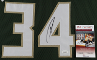 Giannis Antetokounmpo Signed 35x43 Custom Framed Jersey Display (JSA COA) at PristineAuction.com