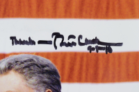 """Bill Clinton Signed 11x14 Photo Inscribed """"Thanks"""" & """"9-9-10"""" (JSA LOA) at PristineAuction.com"""
